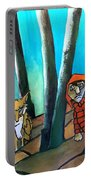 Peter And The Wolf Portable Battery Charger