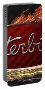 Peterbilt Emblem In Flames Portable Battery Charger