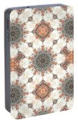 Petrified Folk Tapestry Portable Battery Charger