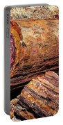 Petrified Log Portable Battery Charger