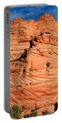 Petrified Sand Dunes Portable Battery Charger