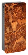 Petroglyphs Portable Battery Charger