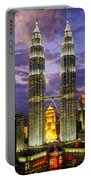 Petronas Towers Portable Battery Charger