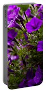 Petunias 1 Portable Battery Charger