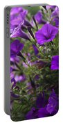 Petunias 2 Portable Battery Charger