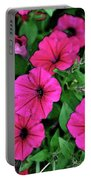Petunias Portable Battery Charger