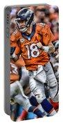 Peyton Manning Art 2 Portable Battery Charger