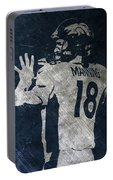 Peyton Manning Broncos 2 Portable Battery Charger
