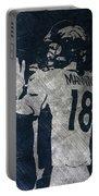 Peyton Manning Broncos 2 Portable Battery Charger