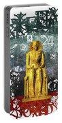 Pharaoh Of Egypt Portable Battery Charger