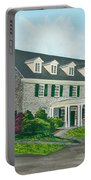Phi Gamma Delta Portable Battery Charger by Charlotte Blanchard