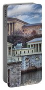 Philadelphia Art Museum At The Water Works  Portable Battery Charger