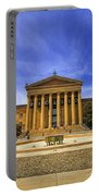 Philadelphia Art Museum Portable Battery Charger by Evelina Kremsdorf