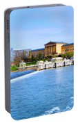 Philadelphia Museum Of Art And The Philadelphia Waterworks Portable Battery Charger
