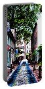 Philadelphia's Elfreth's Alley Portable Battery Charger