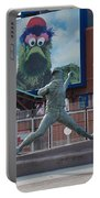 Phillies Steve Carlton Statue Portable Battery Charger