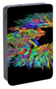 Phoenix Rising Electric Fractal Portable Battery Charger