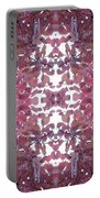 Photo 0800 Autumn Tree Leaves Fractal E1 Mid Centre Portable Battery Charger
