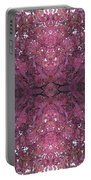 Photo 0800 Autumn Tree Leaves Fractal E2 Thin Portable Battery Charger