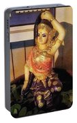 Phra Mae Thorani. Holy Mother Of Earth Portable Battery Charger
