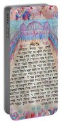 Physician Prayer- Hebrew Version Portable Battery Charger