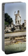 Piazza Del Popolo Fountain Portable Battery Charger