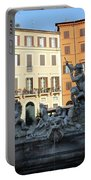 Piazza Navona Rome Portable Battery Charger
