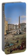 Piazza Novona - Rome Portable Battery Charger