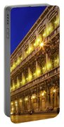 Piazza San Marco By Night Portable Battery Charger