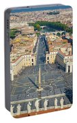Piazza San Pietro Portable Battery Charger
