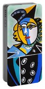 Picasso By Nora  The Queen Portable Battery Charger