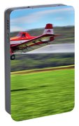 Picking It Up And Putting It Down - Crop Duster - Arkansas Razorbacks Portable Battery Charger