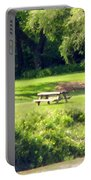 Picnic Table Portable Battery Charger
