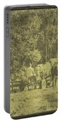 Picture Of Amish Boy In Book Portable Battery Charger