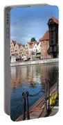 Picturesque City Of Gdansk In Poland Portable Battery Charger