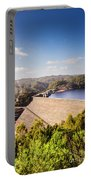 Picturesque Hydroelectric Dam Portable Battery Charger