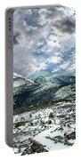 Picturesque Mountain Landscape Portable Battery Charger