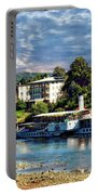 Picturesque River Cruise Portable Battery Charger
