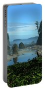 Picturesque Ruby Beach View Portable Battery Charger