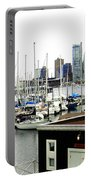 Picturesque Vancouver Harbor Portable Battery Charger