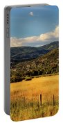 Picturesque View Of Steamboat Springs Colorado Portable Battery Charger
