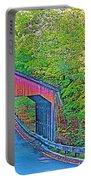 Pierce Stocking Covered Bridge In Sleeping Bear Dunes National Lakeshore-michigan Portable Battery Charger