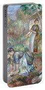 Pierre-auguste Renoir - Washerwomen 1888 Portable Battery Charger