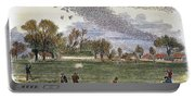Pigeon Hunting, C1875 Portable Battery Charger