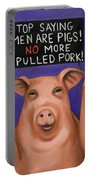 Pigs On Strike Portable Battery Charger