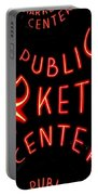 Pike Place Market Entrance 7 Portable Battery Charger