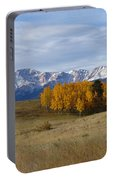 Pikes Peak In The Fall Portable Battery Charger