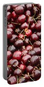 Pile Of Cherries Portable Battery Charger