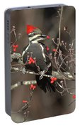Pileated Woodpecker Lunch Portable Battery Charger