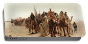 Pilgrims Going To Mecca Portable Battery Charger